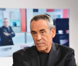 """L'animateur de """"Salut les Terriens"""" sur Canal+ Thierry Ardisson"""