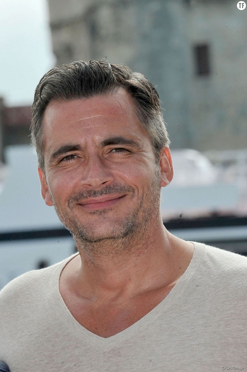 L'animateur de France TV Olivier Minne