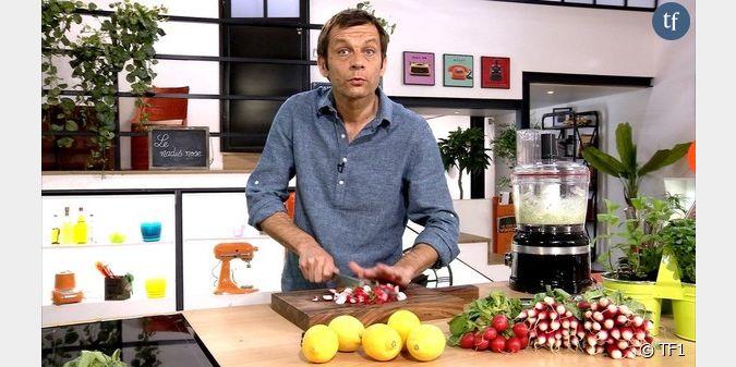 Depuis qu 39 il a d voil ses talents en cuisine laurent - Laurent mariotte cuisine tf1 ...