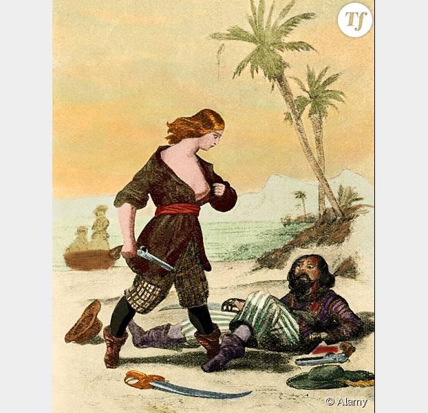 Un portrait de la pirate Mary Read qui a fait trembler les Caraïbes.