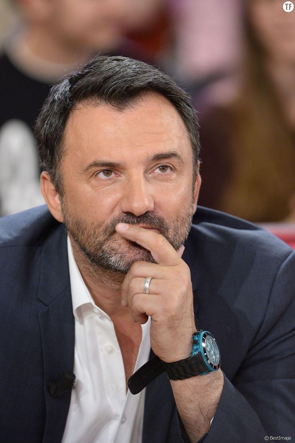 """Frédéric Lopez à l'enregistrement de """"Vivement Dimanche"""""""