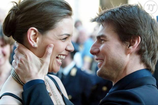Tom Cruise et Katie Holmes en 2005