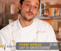 Top Chef 2016 : élimination logique de Pierre Meneau sur M6 replay / 6 play (22 février)