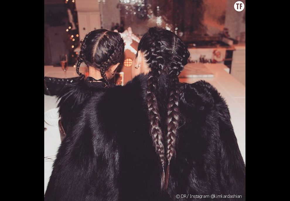 North West et Kim Kardashian