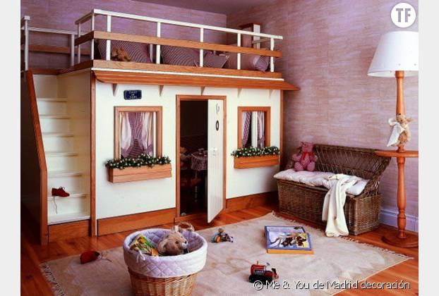 10 jolis lits d 39 enfants ultra originaux rep r s sur le web terrafemina - Lit maison fille ...