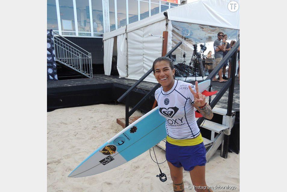 La surfeuse Silvana Lima