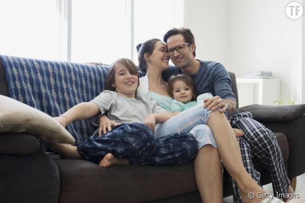 Parents heureux, enfants qui réussissent