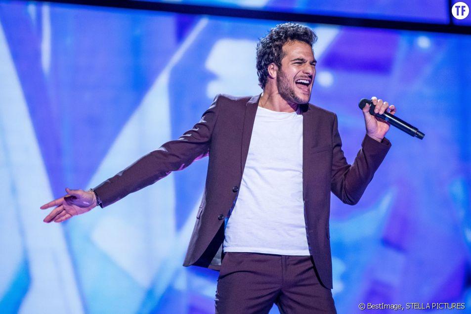 Amir Haddad, candidat français de l'Eurovision 2016