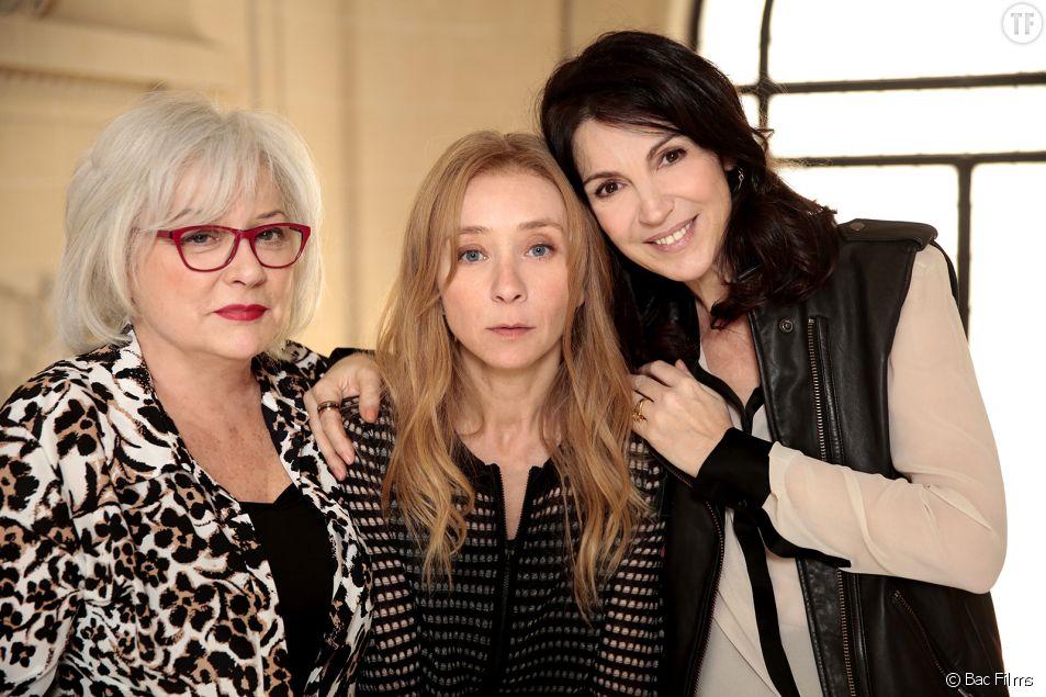 Josiane Balasko, Synvie Testud et Zabou Breitman dans Arrête ton cinéma