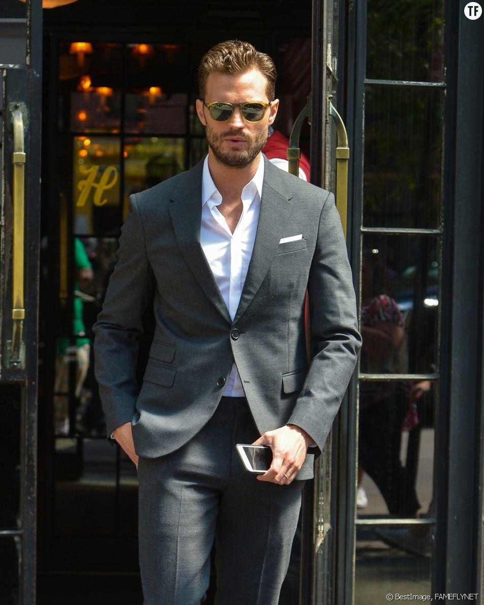 Jamie Dornan à New York le 4 août 2016