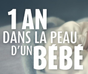 """Le documentaire """"1 an dans la peau d'un bébé"""" sur M6"""