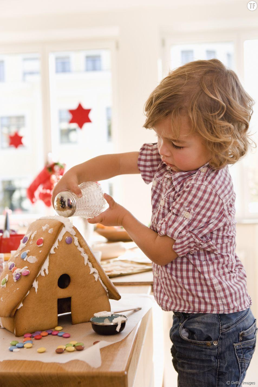 Faire une maison en pain d'épices avec les enfants