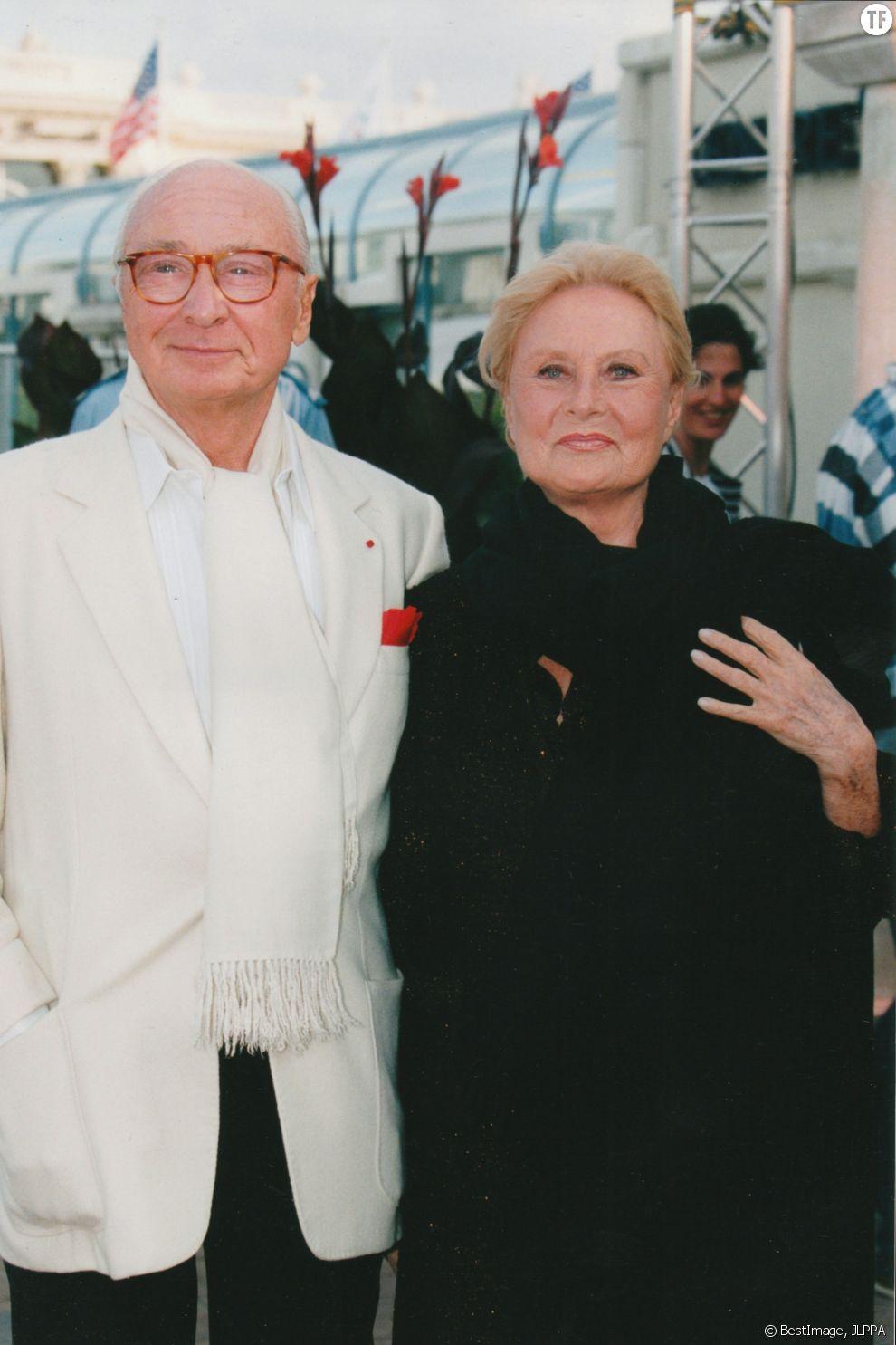 Le couple à Deauville en 1996