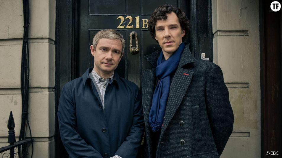Sherlock sur France 2