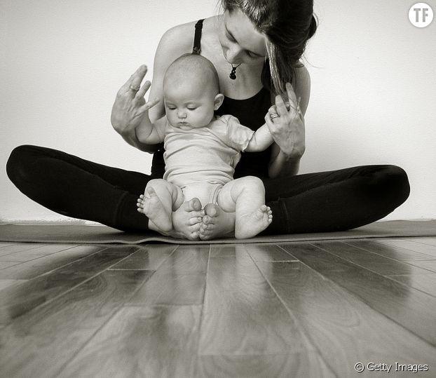 Pratiquer le yoga avec son bébé