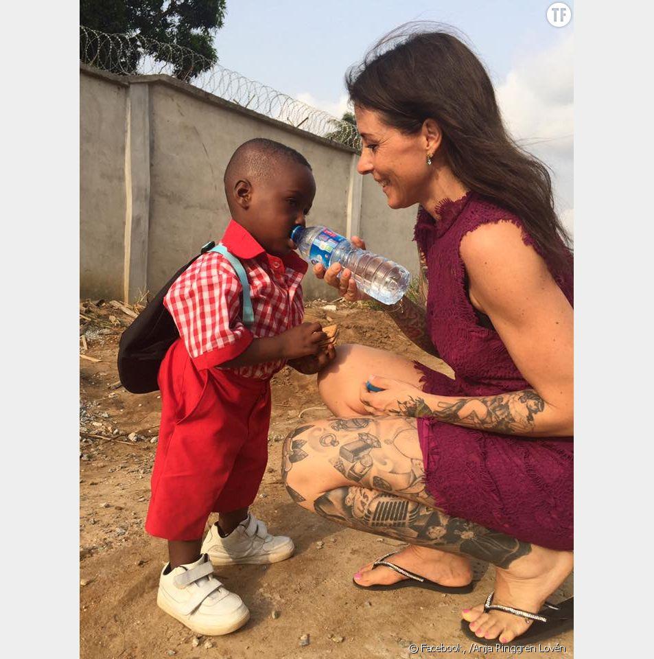Hope, le petit Nigérian sauvé en 2016 donne de ses nouvelles