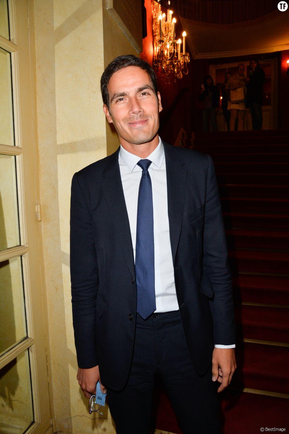 Mathieu Gallet au Théâtre des Variétés à Paris le 12 octobre 2016