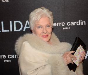 """Line Renaud à l'avant-première du film """"Dalida"""" à L'Olympia, le 30 novembre 2016"""