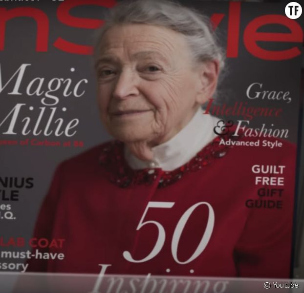 La scientifique Mildred Dresselhaus, star d'une publicité pour General Electric