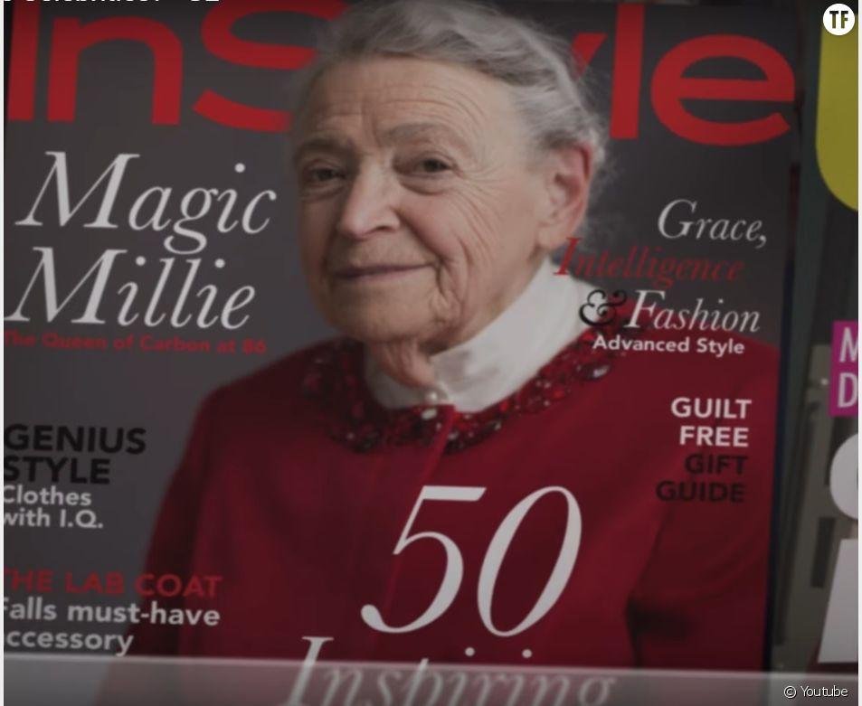 La scientifique Mildred Dresselhaus, star d'une publicité pour General Electric