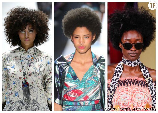 Coiffures printemps/été 2017 : nappy hair