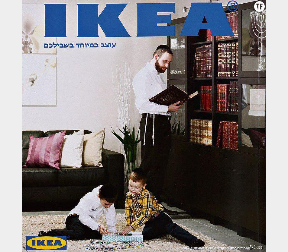 En Israël, Ikea gomme les femmes de son catalogue pour contenter les ultra-orthodoxes