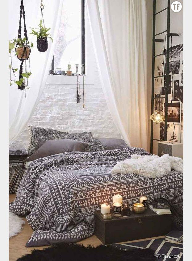 deco jungle urbaine chambre ado. Black Bedroom Furniture Sets. Home Design Ideas
