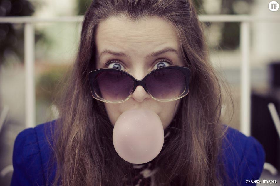 Le chewing gum, mauvais pour la santé