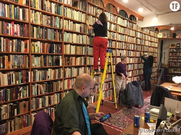 La librairie Loganberry Books