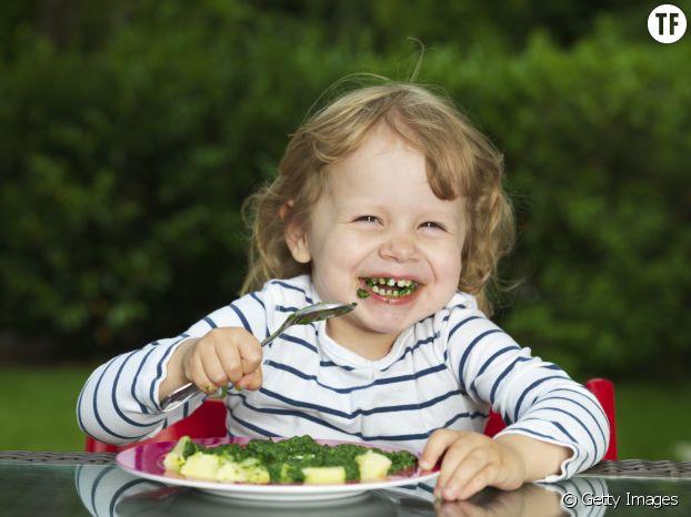 Tous les enfants ne sont pas si joyeux face à leur assiette