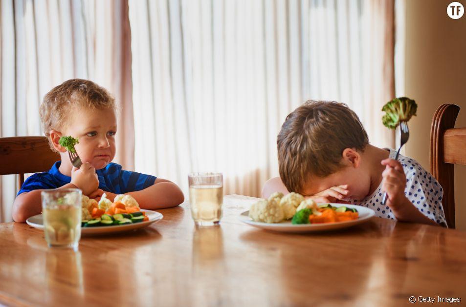 Pourquoi les enfants rechignent à manger des légumes ?