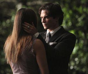 Damon et Elena dans le dernier épisode de The Vampire Diaries