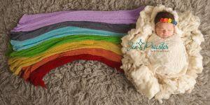 """Cette photo d'un """"bébé arc-en-ciel"""" émeut les internautes"""