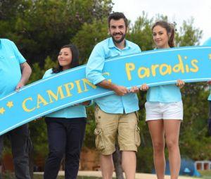 Laurent Ournac et l'équipe de Camping Paradis