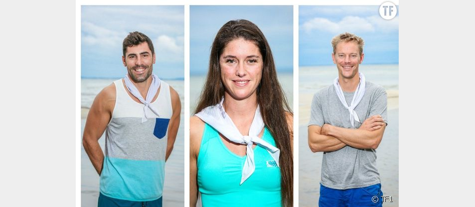 Vincent, Claire et Sébastien, les nouveaux candidats de Koh-Lanta