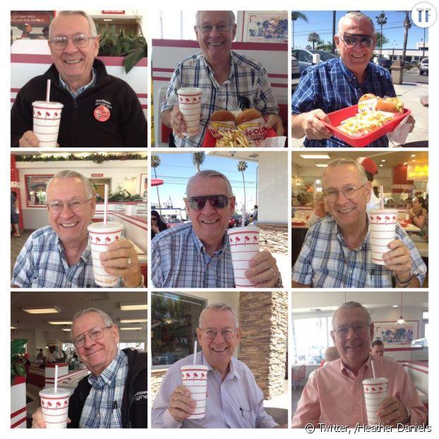 Ce grand-père est la star des fast-food In-N-Out