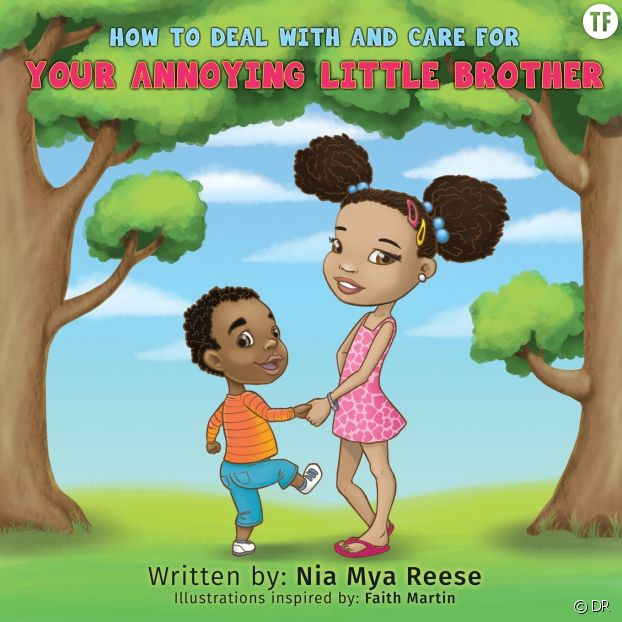 A 8 ans, elle écrit un livre sur son enquiquineur de petit frère