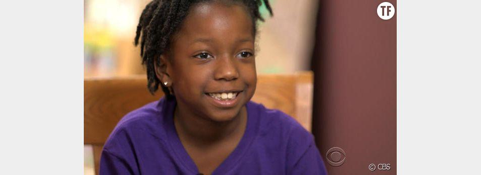 A 8 ans, elle a écrit un livre sur son petit frère