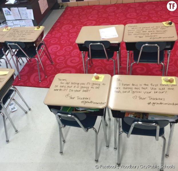 Les jolis mots laissés par ce professeur à ses élèves