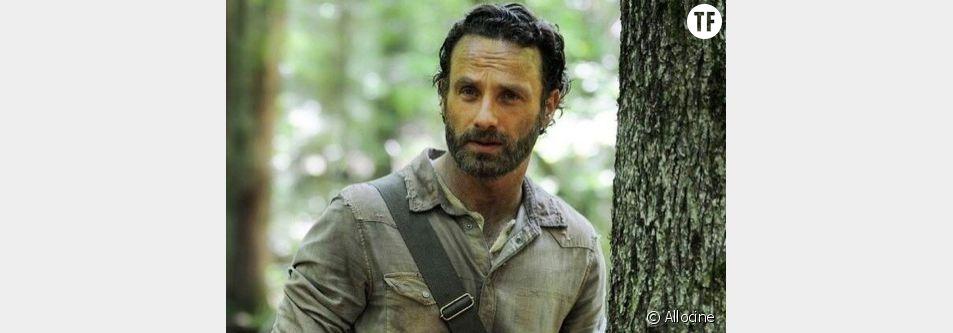 Rick, dans The Walkind Dead