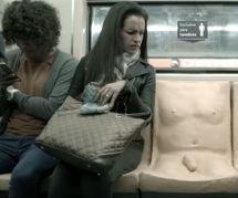 Une campagne couillue contre le harcèlement sexuel dans le métro à Mexico