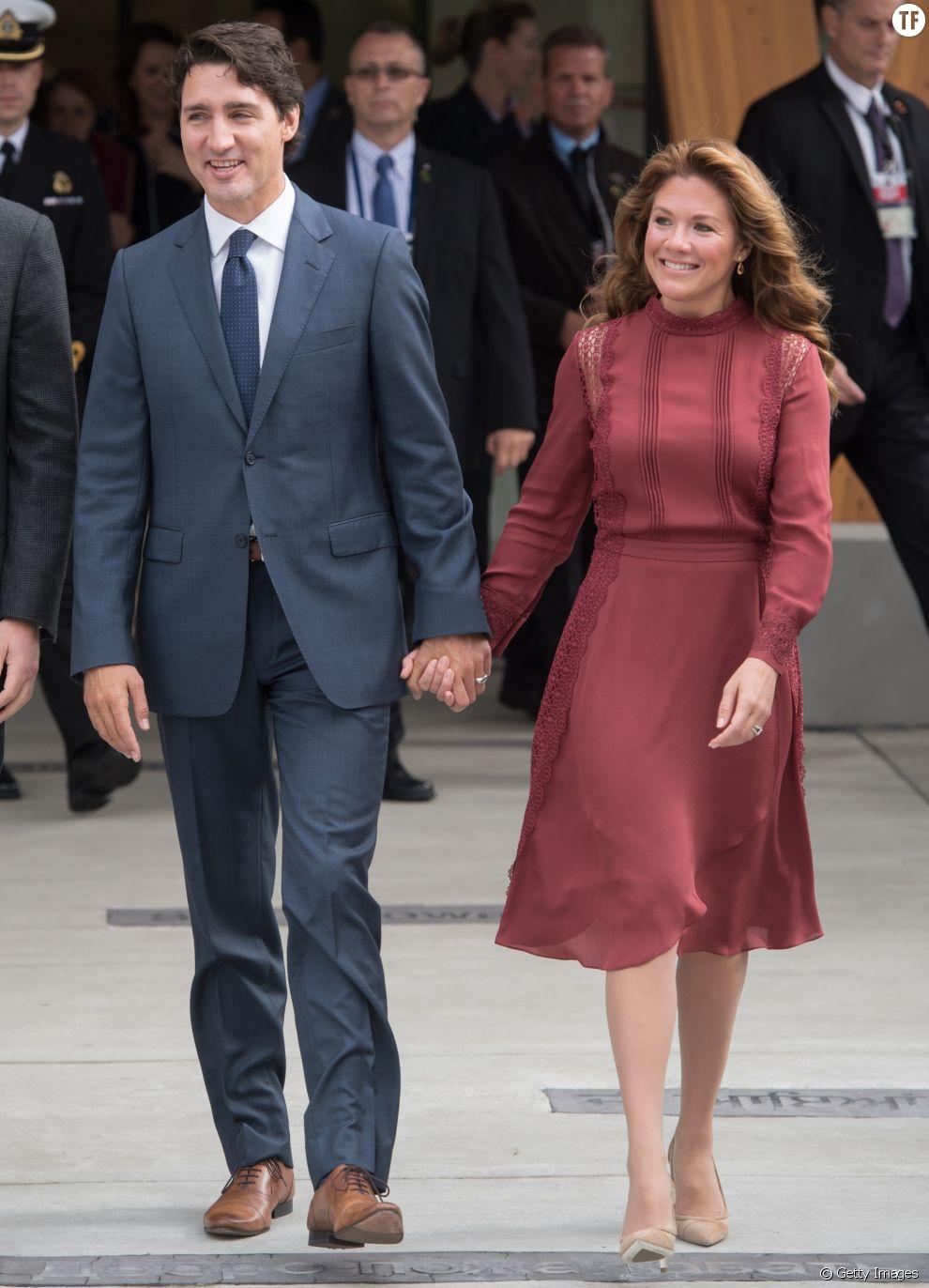 Le Premier ministre canadien Justin Trudeau et son épouse, Sophie Grégoire