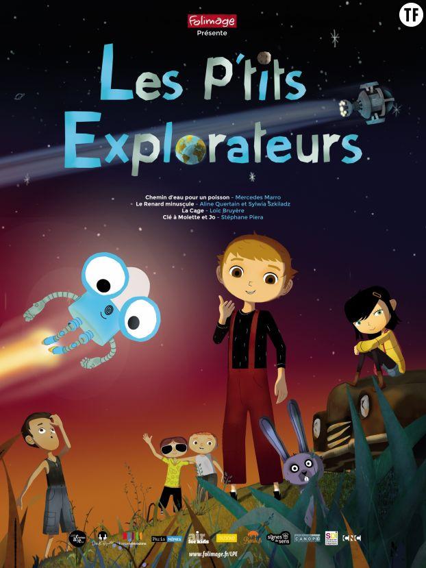 """Affiche """"Les P'tits Explorateurs"""""""