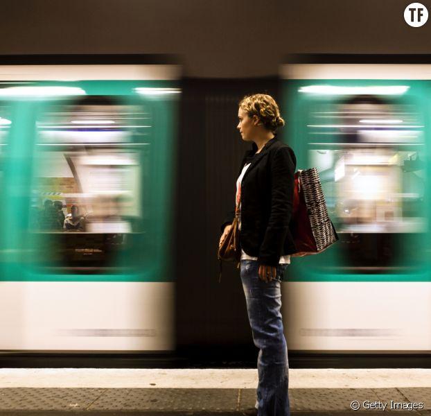 Une femme sur deux est inquiète dans les transports en commun