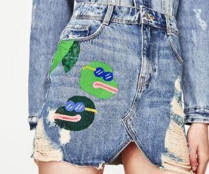 Cette jupe Zara avec des grenouilles fait polémique