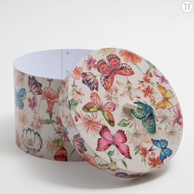 Boîte ronde papillon Zara