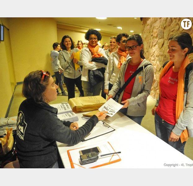 Briefing sportif et distribution du roadbook pour le Trophée Roses des Andes 2017
