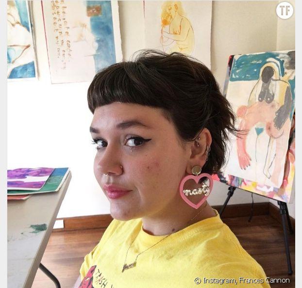 Les boucles d'oreilles de l'instagrammeuse Frances Cannon