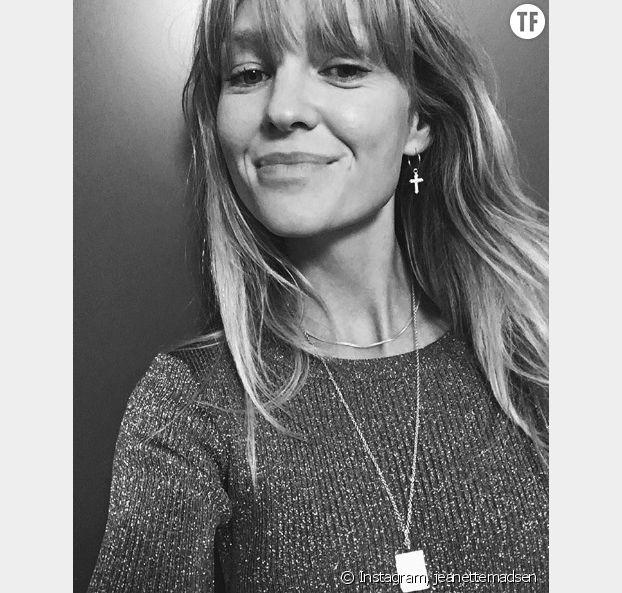 Les boucles d'oreilles de la modeuse Jeanette Madsen