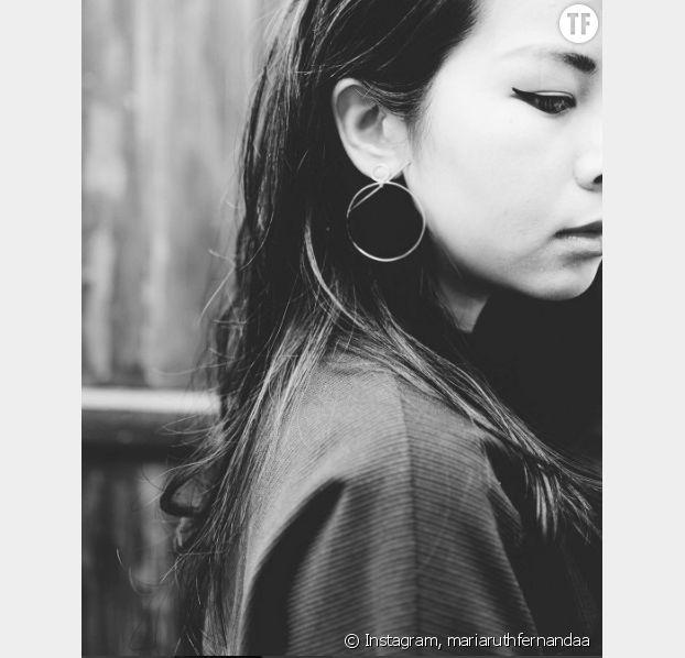 Les boucles d'oreilles de l'instagrammeuse mariaruthfernandaa